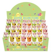 2 Bunnys In Buckets Asstd Cdu (26469-BUNY)