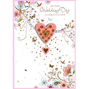 Simon Elvin Isabels Garden Wedding  Card (26685)