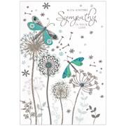 Simon Elvin Isabels Garden Sympathy Card (26686)