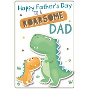 Fd Roarsome Dad Poppet Card (26748-C)