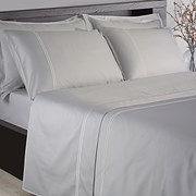 300tc Fitted Sheet Silver Single (SHE05512SIL)