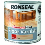 Ronseal Diamond Hard Floor Varnish Clear Gloss 2.5l (32582)