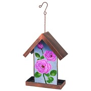 Fountasia Bird Feeder Pink Rose (35028)