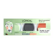 Loreal Pure Clay Mini Masks Play Kit 3x10ml (356744)