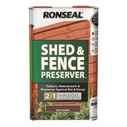 Ronseal Shed&fence Preserver D'brwn 5lt (37650)