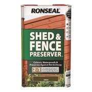 Ronseal Shed&fence Preserver Green 5lt (37652)
