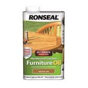 Ronseal Hardwood Furnture Oil Oak 1lt (37357)