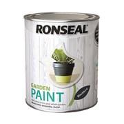 Ronseal Garden Paint Black Bird 750ml (37406)