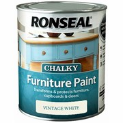 Ronseal Chalky Furniture Paint Vintage White 750ml (37482)