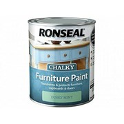 Ronseal Chalky Furniture Paint Dusky Mint 750ml (37487)