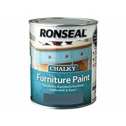 Ronseal Chalky Furniture Paint Midnight Blue 750ml (37488)