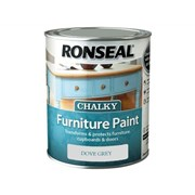 Ronseal Chalky Furniture Paint Dove Grey 750ml (37564)