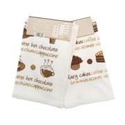3pk Kitchen Towel Coffee & Cakes (KTP078927)