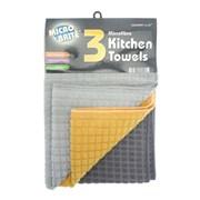 3pk Dobby Kitchen Towels (KTS105265)