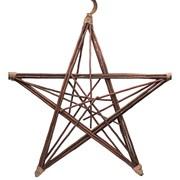 Gisela Graham Natural Twig Frame Star Wreath X/lge (40880)