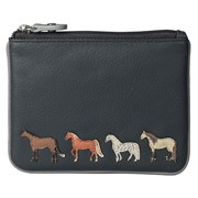 Best Friends Horses Coin Pouch Grey (4224-65 GREY)
