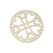Apollo Mini Round Trivet Cream (4239)