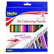 24 Full Length Colouring Pencils (PN4010)