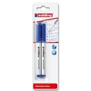 Edding Blue Handwriter Pens 2 Pack (1424003)