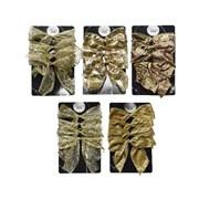 Gold Bows 4s 10cm (445315)