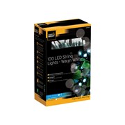 Cole & Bright Dual Powered 100 Led String Lights Warm White (L24103D)
