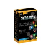 Cole & Bright Dual Powered 50 Led String Lights Multi Coloured (L24201D)