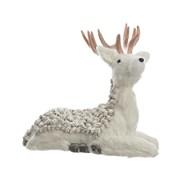 Kaemingk Laying Deer White 38cm (457058)