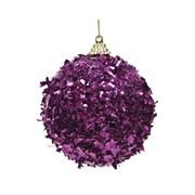 Bauble Foil Royal Purple 8cm (457642)