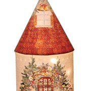 Santa's Workshop Xmas Led House (CH18011)