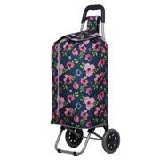 Shopping Trolley Navy Floral (ST689)