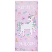 Catherine Lansfield Summer Unicorn Beach Towel