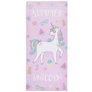 Catherine Lansfield Summer Unicorn Beach Towel