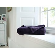 Deyongs Snuggle Touch Throw Purple 180cm