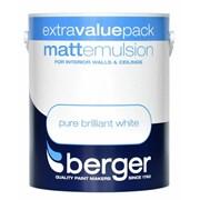 Berger Matt Emulsion Brilliant White 3l (5020263)