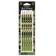 Oxford Camo Pencils-green 5pk (856200)