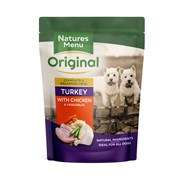 Natures Menu Cooked Food Pouches For Dogs Assorted 300g (NMMUL)