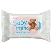 Baby Care Wipes Refills 72s (2001001)