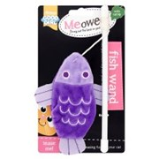 Goodgirl Meowee Fish Wand Cat Toy 380mm (17185)