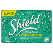E.sheild Aqua 4 Pack 115gm (0795211)