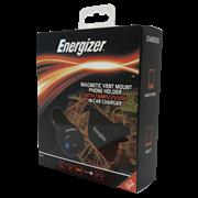 Energizer 12v Usb Charger & Magnetic Vent Mount (50532)