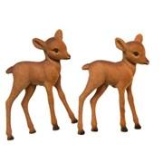 Flock Baby Reindeer Brown 7.5cm (515343)