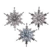 Snowflake Asst 12cm (515360)