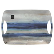 Creative Tops Ct Blue Abstract Lux Handled Tray Large (5233389)