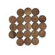 Creative Tops Ct Naturals Circle Wood Coasters 4pk (5234374)