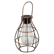 Fountasia Solar Bulb Lantern Copper (55064)