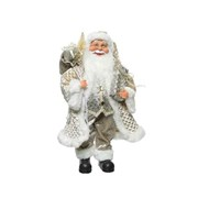Pes Silver Santa 30cm (560124)