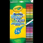 Crayola 24 Supertips Markers (58-5057-E-000)