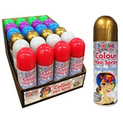 Colour Hair Spray Asstd 200ml (5941A)