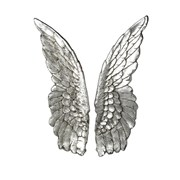 Parlane Art Angel Wings Silver H600mm (621097)