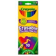 Crayola 10 Erasable Coloured Pencils (68-4410)